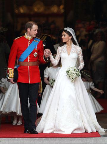 החתונה המלכותית של קייט מידלטון והנסיך וויליאם (צילום: gettyimages)