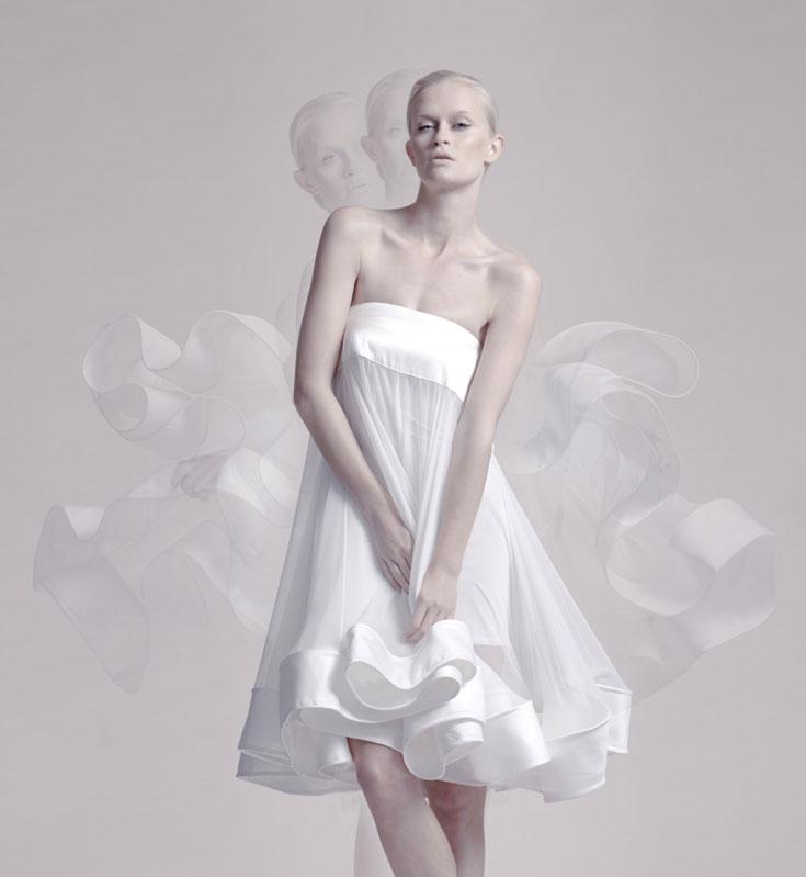 עומרי גורן. 70-50 אחוז הנחה על שמלות כלה מקולקציות קודמות (צילום: אלון שפרנסקי)