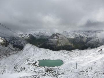 קרחון Diavolezza Glacier. שוויץ (צילום: jhannon1, cc)