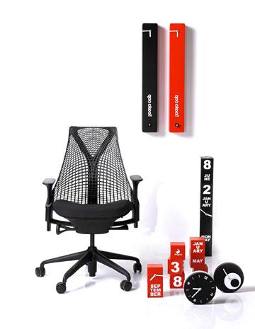 כיסא משרדי בעיצוב איב בהר, ב-800 שקלים פחות (צילום: הרמן מילר)