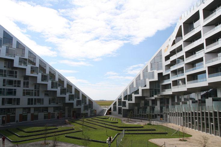 הבחירה של איתן קימל (קימל-אשכולות): קומפלקס המגורים 8 בקופנהגן. 400 יחידות מגורים שלא חוזרות על עצמן (צילום: Bitten Dallas, cc)