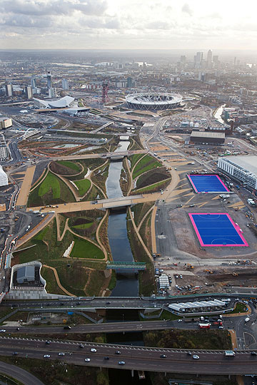 הפארק האולימפי בלונדון. הבחירה של רועי אלרואי (צילום: gettyimages)