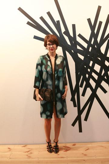 לוסטיג באירוע הפתיחה של שבוע האופנה בחולון (צילום: עמי סיאנו )