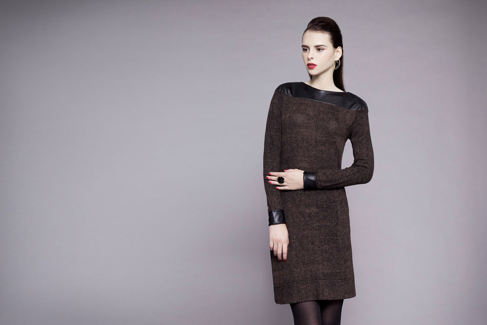 פזית קידר. קולקציית בגדים ותכשיטים הפונה לנשים בוגרות (צילום: עמיר צוק)