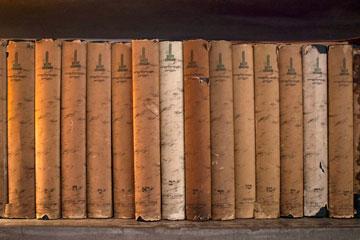 והאנציקלופדיה העברית (צילום: אביעד בר נס)