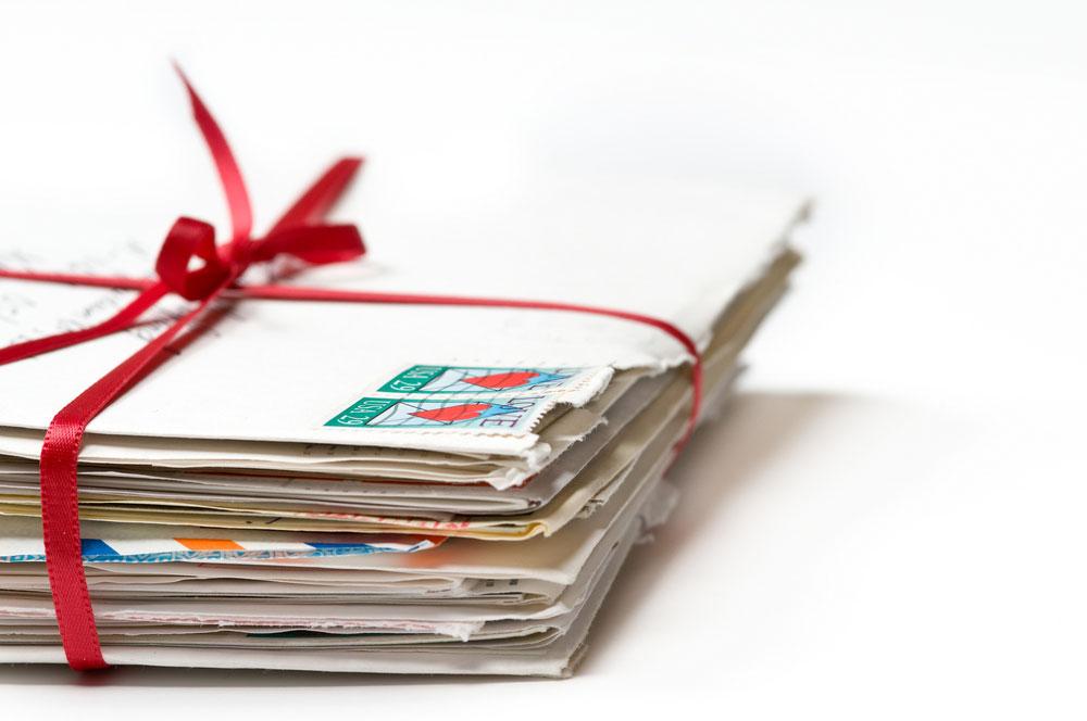 אהבת חינם: לקבל מכתב אהבה מאדם זר (צילום: shutterstock)