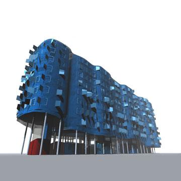 פרויקט Vallecas במדריד. שלב הסקיצות נראה טוב (באדיבות פיטר קוק)