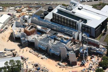 כאן בונים את הקמפוס החדש באוסטרליה (באדיבות פיטר קוק)