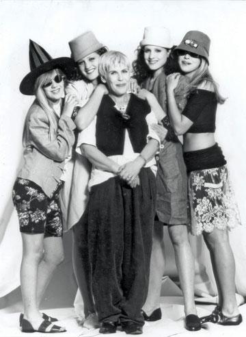 טובה'לה בשנות ה-90 (צילום: שרית גופן)