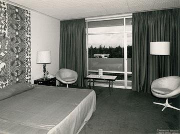 חדר במלון איבואר באבידג'אן (עיבוד תמונה: אבי חי)