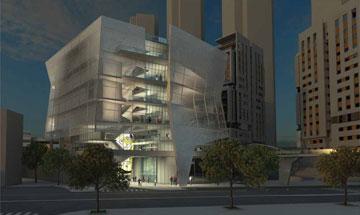 ההצעה של גרובמן וחן אדריכלים (הדמיה: גרובמן אדריכלים, חן אדריכלים)
