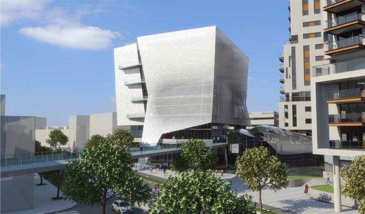 הדמיה: גרובמן אדריכלים, חן אדריכלים