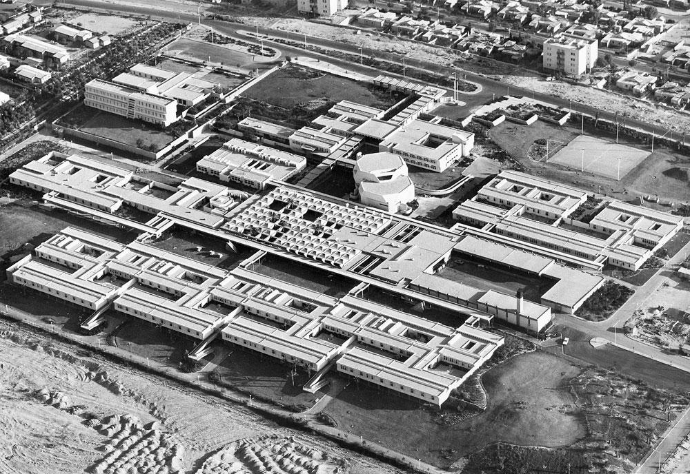 המרכז לבריאות הנפש בבאר שבע. פרס רכטר ניתן לצפור על הפרויקט הזה (באדיבות צפור אדריכלים)