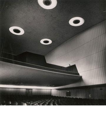קולנוע תמר בתל אביב, בעיצובו של פנחל (נהרס) (עיבוד תמונה: אבי חי)