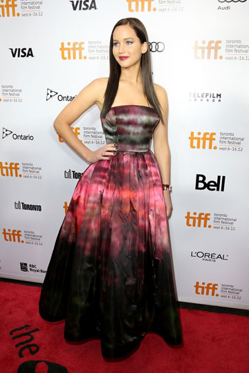 ג'ניפר לורנס. זכתה בתואר האישה הנחשקת ביותר לשנת 2013 (צילום: gettyimages)