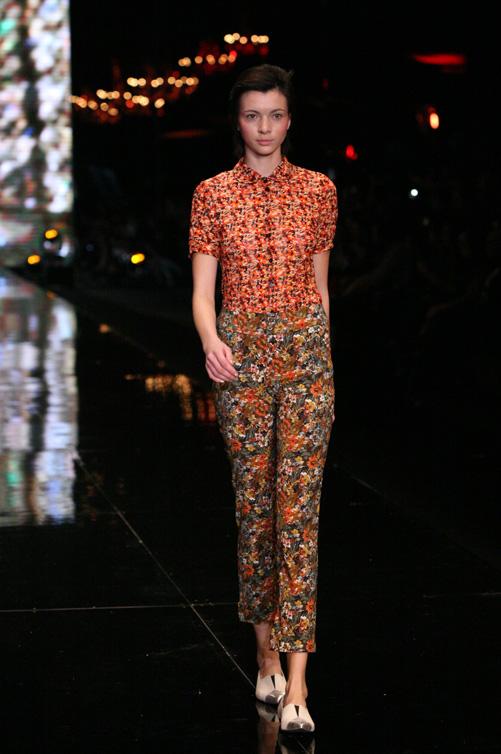 תצוגת האופנה של דורין פרנקפורט, חורף 2012-13 (צילום: ענבל מרמרי )