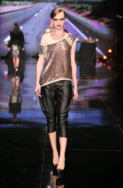 תצוגת האופנה של שוגר דדי, חורף 2012-13 (צילום: ענבל מרמרי)
