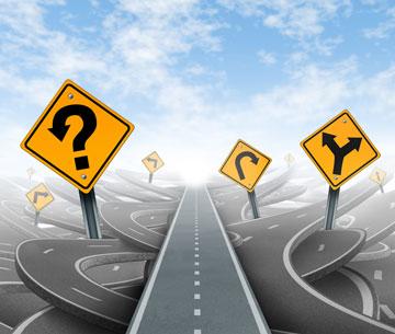 אי ודאות או הזדמנות לדרך חדשה? (צילום: Shutterstock)