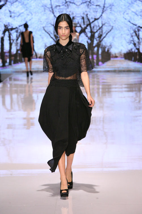 תצוגת האופנה של לי גרבנאו, חורף 2012-13 (צילום: ענבל מרמרי )