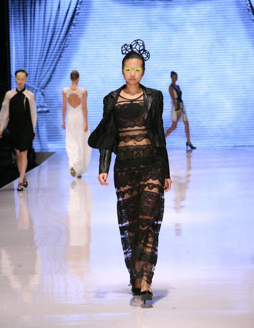 תצוגת האופנה של המעצבת חגית ויטמן, חורף 2012-13 (צילום: ענבל מרמרי)