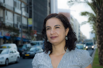 ד''ר טלי חתוקה. מייסדת המעבדה לעיצוב עירוני (צילום: מיכל קידרון)