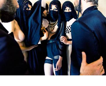 הפקת האופנה Why can't we all just get along (צילום: ליאור נורדמן)