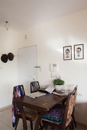 הכניסה לדירה (צילום: טל ניסים)