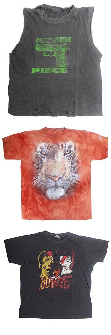 ''הארון שלי מתפקע מחולצות טי, לרוב הן הפריט שאני הכי מתקשה לזרוק'' (צילום: שי נייבורג)