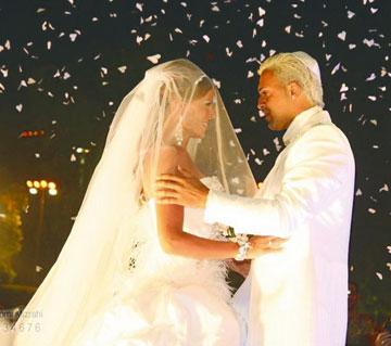 """""""לא רציתי שהילד שלי יגדל עם הורים גרושים"""". בחתונה (2008) (צילום: שלומי מזרחי)"""