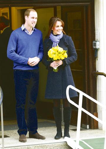 מעדיפה סיגריות על זר פרחים? קייט מידלטון והנסיך וויליאם (צילום: gettyimages)