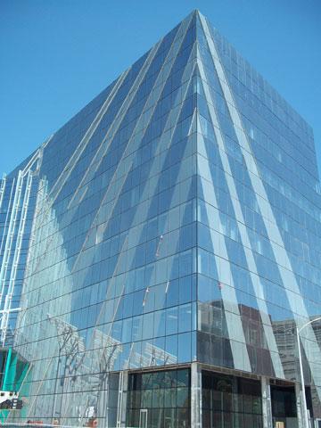 בניין עיריית לאס וגאס, בתכנון הווארד אלקוס (צילום:  time_anchor cc)