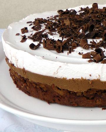 ללא גלוטן. עוגת שוקולד ואגוזים (צילום: אסנת לסטר)