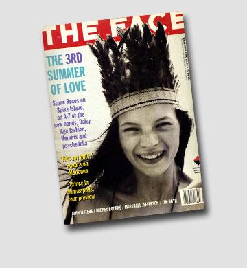 קייט מוס על שער מגזין The Face