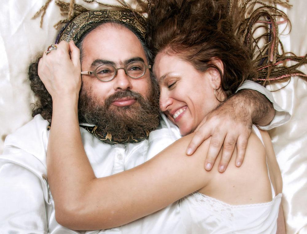 אוהד ואשתו עם אשתו, דואון־שרי, ביחד 11 שנים (צילום: עדי אדר)