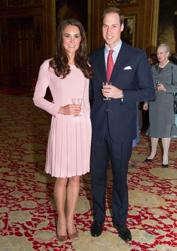 קייט מידלטון והנסיך וויליאם, 18 במאי 2012 (צילום: gettyimages)