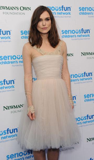 אפילו את שמלת הכלה אפשר ללבוש שוב. קירה נייטלי (צילום: gettyimages)