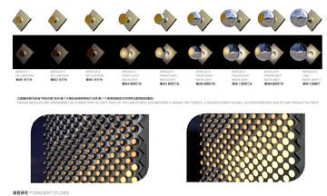 כפתורי המתכת בקניון בווהאן (צילום: Unstudio)