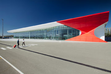שדה התעופה דוד בגיאורגיה (צילום: Nakanimamasakhlisi)