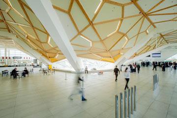 יקלוט מיליון איש בשנה. שדה התעופה החדש (צילום: Nakanimamasakhlisi)