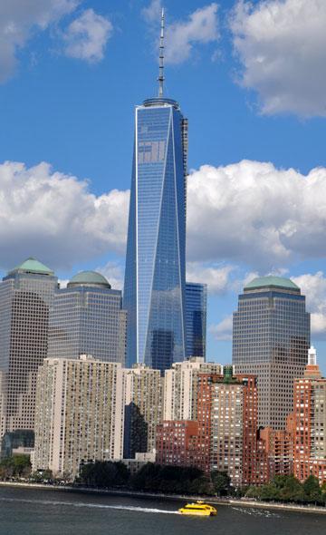 האנטנה הכריעה: מגדל החירות של ליבסקינד הוא הגבוה מכולם בארה''ב (צילום: shutterstock)