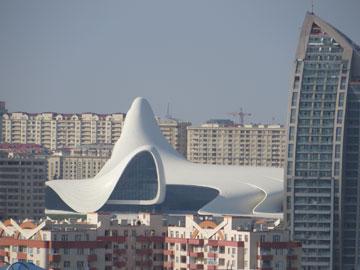 חדיד לכל שליט. מרכז Heydar Aliyev בבאקו (צילום: cc ,yourcococco)