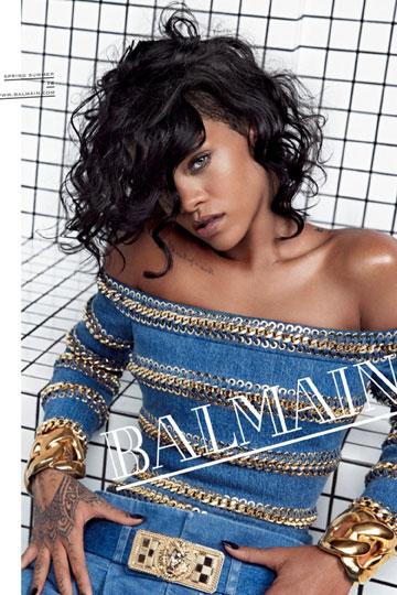 ריהאנה לבלמן. מביאה רוח נעורים לבית האופנה הצרפתי