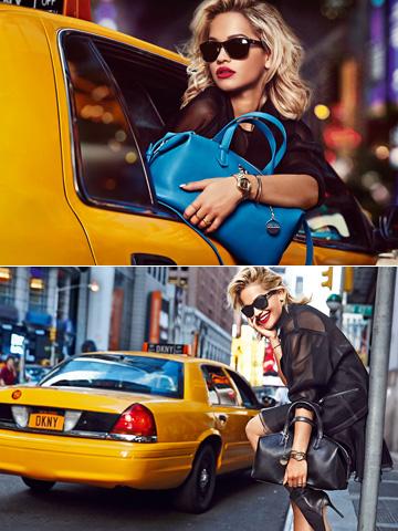 ריטה אורה ל-DKNY. השתלטה על המותג