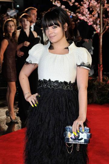 הכישרון הבולט ביותר שלה הוא להיכנס למריבות עם כוכבי פופ אחרים. לילי אלן (צילום: gettyimages)