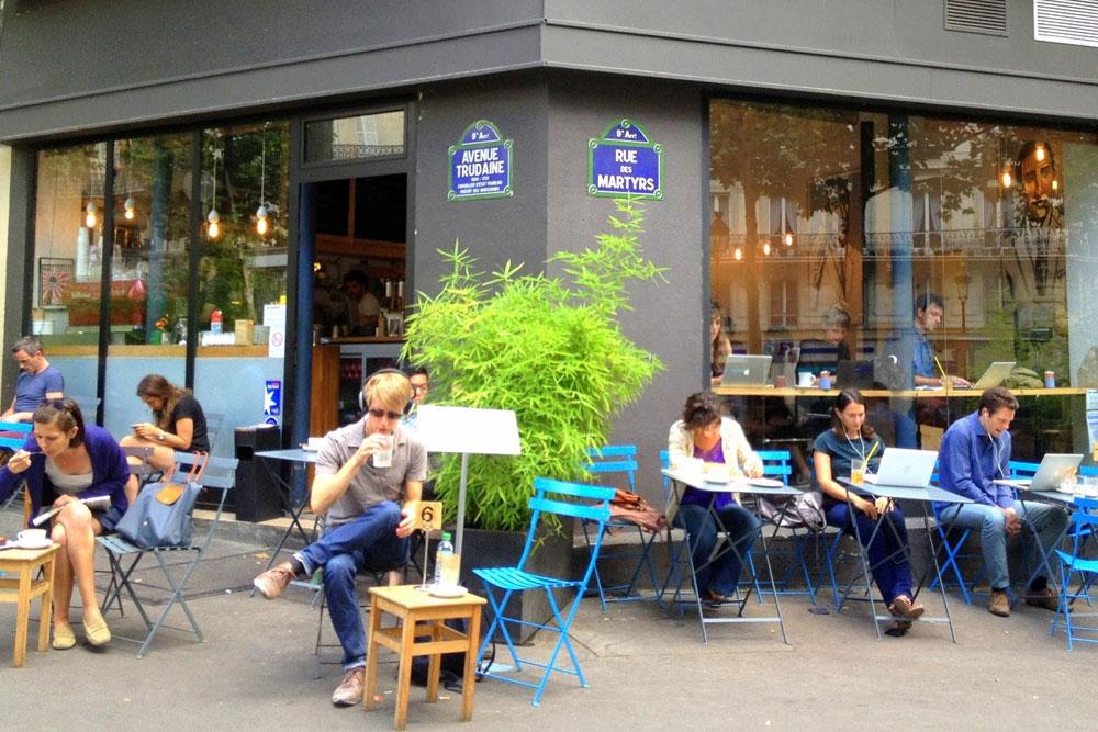 מיקום נפלא והפוך כמו שצריך. קפה Kooka Boora (צילום: שרון היינריך)