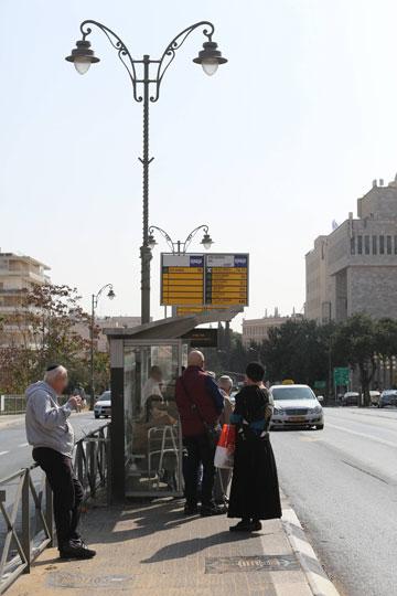 ירושלים. המצב טוב במרכז העיר, המצב רע כשמתרחקים ממנו (צילום: גיל יוחנן)