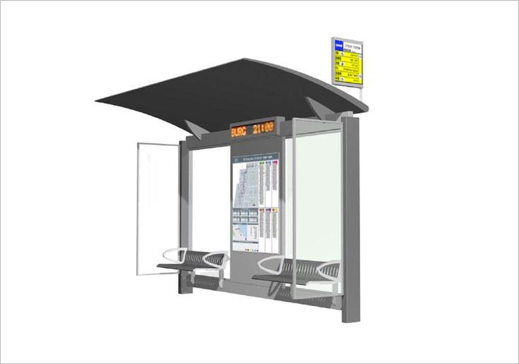 איך צריכה להיראות תחנת אוטובוס לפי תקני משרד התחבורה