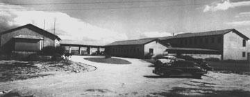 הבניין הראשון שהוקם במדרשה (באדיבות המרכז האקדמי רופין)