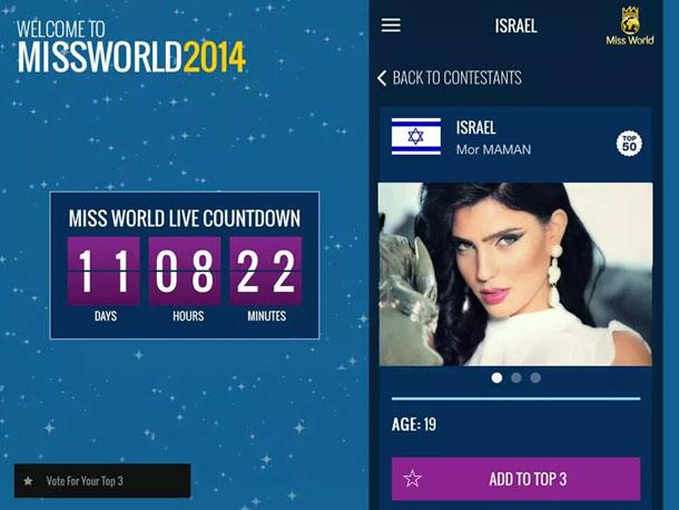 ככה זה נראה. הצבעה לישראל במקום הראשון