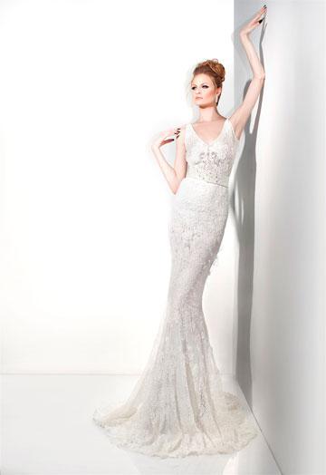 יניב פרסי ב-Easy Wed. שמלות כלה במחירים 3,000-1,000 שקל (צילום: איילת רבינוביץ)